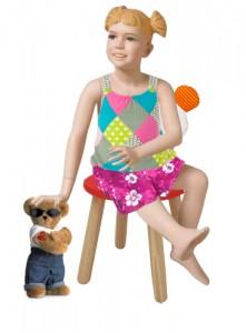 Sitting Girl Mannequin
