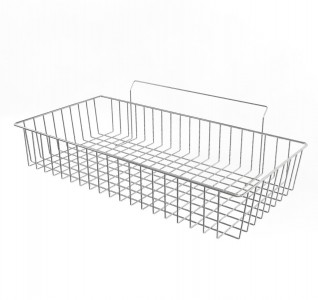 Shallow Basket For Slatwall