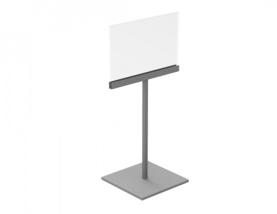 Sign Holder With Stand