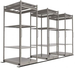 Sliding Storage Rack