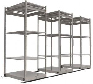 Sliding Storage Rack