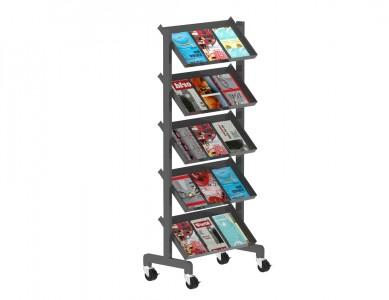 Free-Standing Magazine Rack