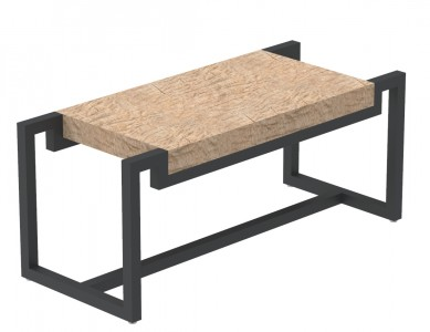 Bench With Wood