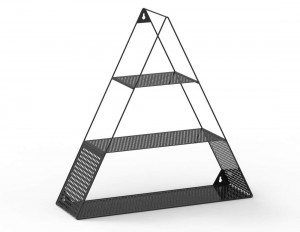 Triangle Shape Wall Shelf