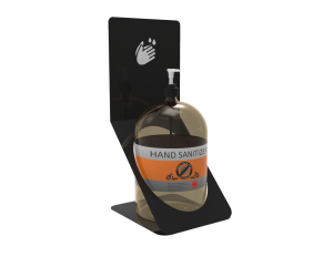 Hand Sanitizer Stand For Table Top(Large Bottle)