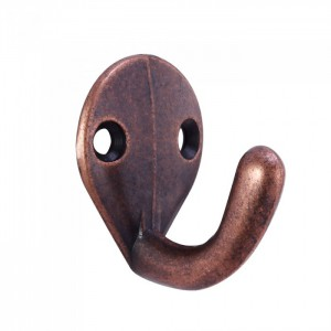 Coat Hook Antique Bronze