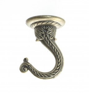 Swivel Swag Hook Antique Brass