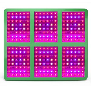 LED Grow Light 288pcs with Reflector 120