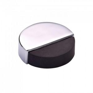 Round Floor Mounted Door Stopper-Chrome