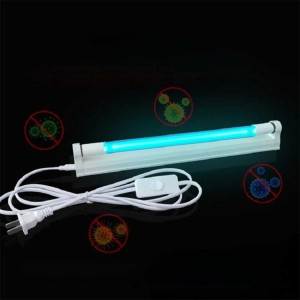 UV Light Sterilizer T5 T8 Tube UVC LED Disinfection Lamp Kill Dust Mite UV Lamp