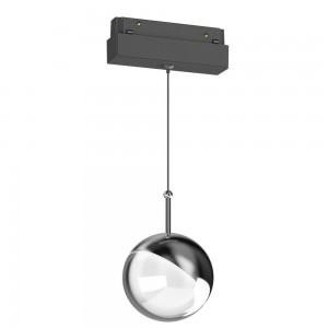 Magnetic led track magnetic ball lights for pendant magnetic