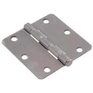 "Door Hinge (Radius: 1/4"" 3"" / 3-1/2"" / 4"")"
