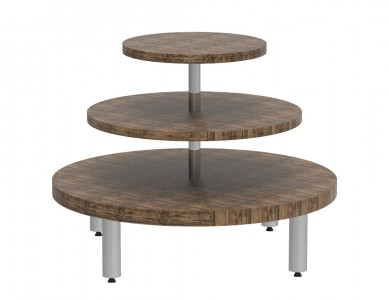 3 Tiered Round Table